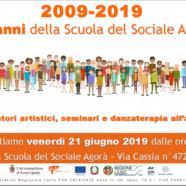 I dieci anni di AGORÀ – Scuola del Sociale