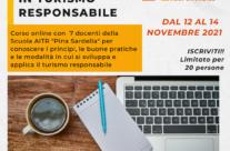 TORNA IL CORSO-BASE SUL TURISMO RESPONSABILE DI AITR (ON-LINE 12/14 NOVEMBRE)